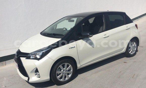 Buy Toyota Yaris White Car in Addis Ababa in Ethiopia