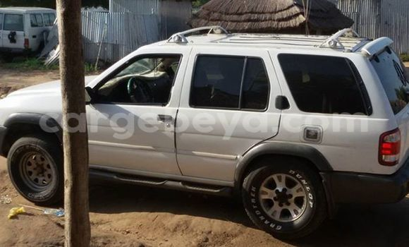 Buy Nissan Pathfinder White Car in Addis Ababa in Ethiopia