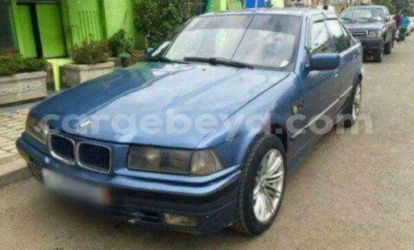 Buy BMW 3-Series Blue Car in Addis Ababa in Ethiopia