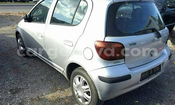 Buy Toyota Vitz Silver Car in Addis Ababa in Ethiopia