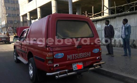 Buy Mitsubishi L200 Red Car in Addis Ababa in Ethiopia