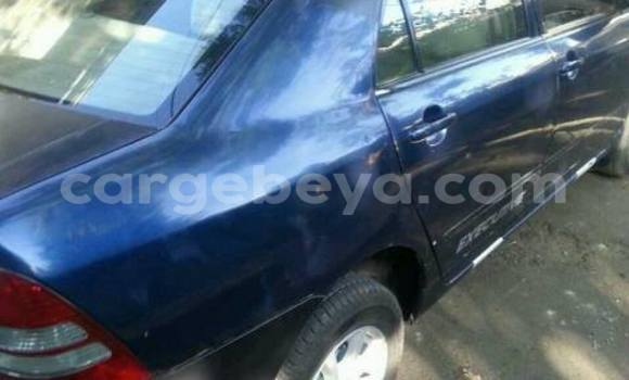 Buy Toyota Corolla Blue Car in Addis Ababa in Ethiopia