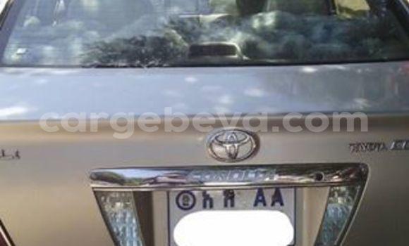 Buy Toyota Corolla Silver Car in Addis Ababa in Ethiopia
