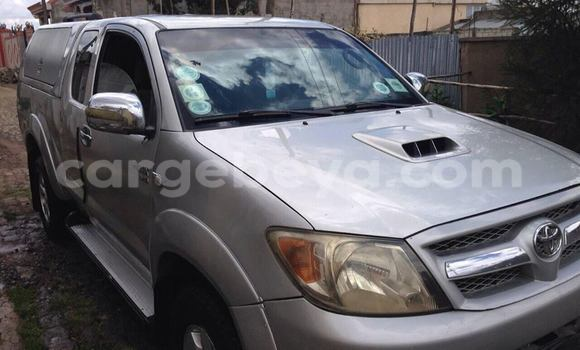 Buy Toyota Hilux Silver Car in Addis Ababa in Ethiopia