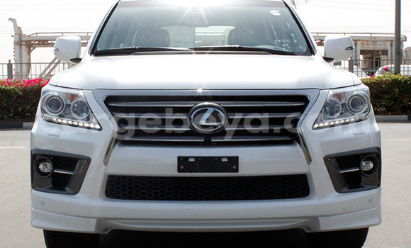 Buy Lexus LX White Car in Addis Ababa in Ethiopia