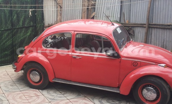 Buy Volkswagen Beetle Red Car in Addis Ababa in Ethiopia