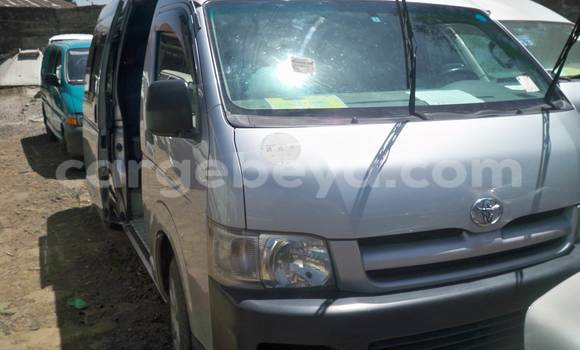Buy Toyota HiAce Silver Truck in Addis Ababa in Ethiopia