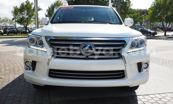 Buy Lexus LX 570 White Car in Harar in Ethiopia