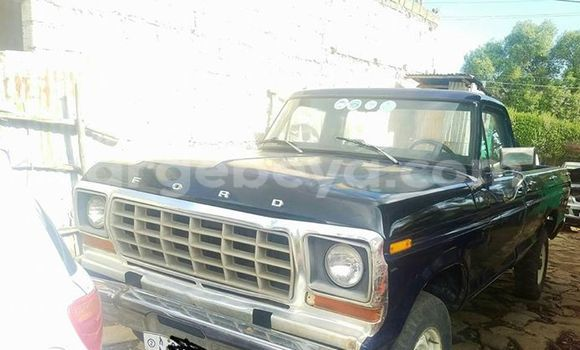 Buy Ford Pickup Blue Car in Addis Ababa in Ethiopia
