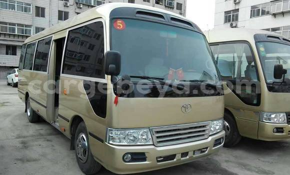 Buy Toyota Coaster Beige Car in Addis Ababa in Ethiopia