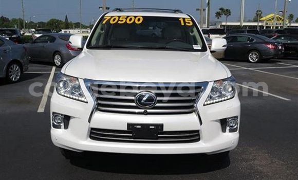 Buy Lexus LX 570 White Car in Addis Ababa in Ethiopia