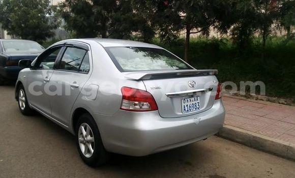Buy Toyota Yaris Silver Car in Addis Ababa in Ethiopia