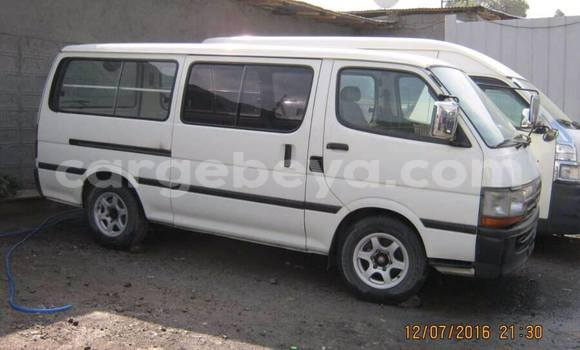 Buy Toyota Hiace White Car in Addis Ababa in Ethiopia