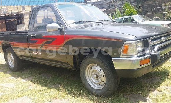 Buy Toyota Hilux Black Car in Addis Ababa in Ethiopia
