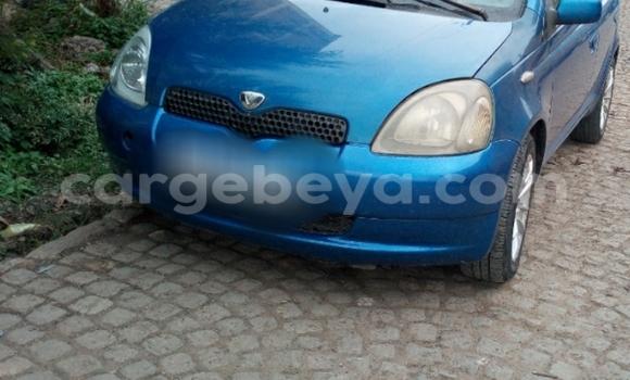 Buy Toyota Vitz Blue Car in Addis Ababa in Ethiopia