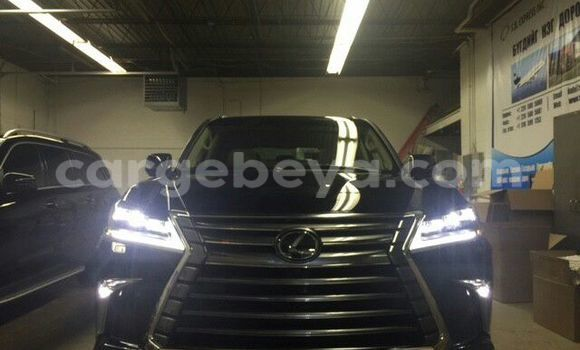 Buy Lexus LX 570 Black Car in Addis Ababa in Ethiopia