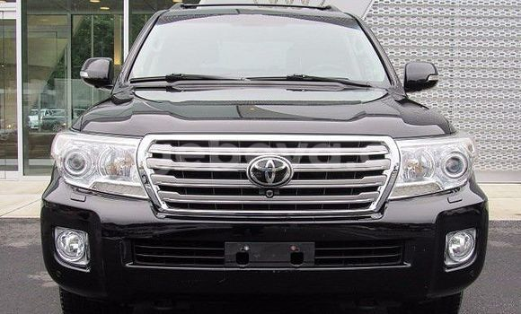 Buy Toyota Land Cruiser Black Car in Addis Ababa in Ethiopia