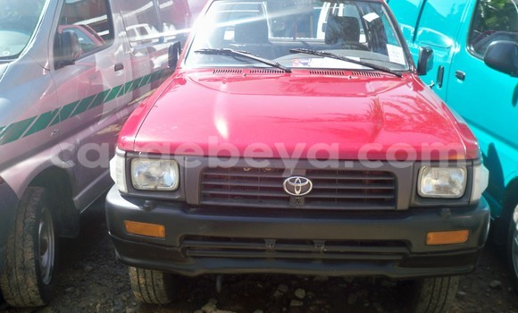Buy Toyota 4Runner Red Car in Addis Ababa in Ethiopia