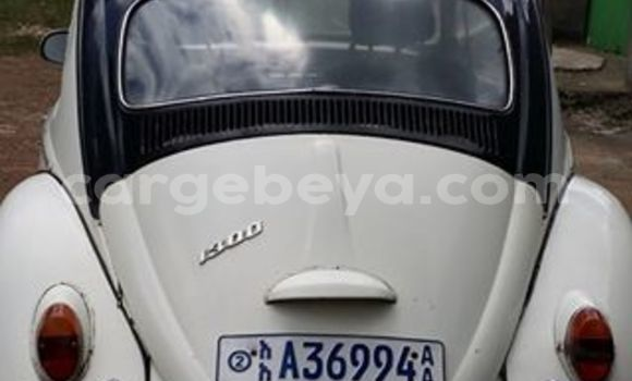 Buy Volkswagen Beetle White Car in Addis Ababa in Ethiopia