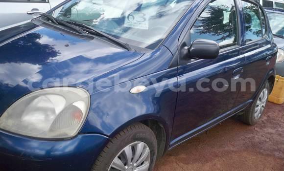Buy Toyota Yaris Blue Car in Addis Ababa in Ethiopia